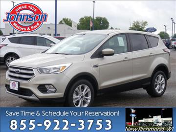 2017 Ford Escape for sale in New Richmond, WI