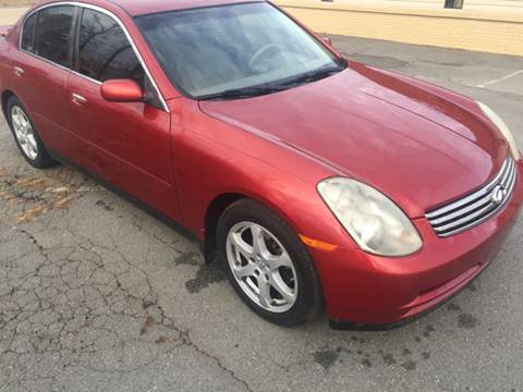 2004 Infiniti G35 for sale at Old School Cars LLC in Sherwood AR