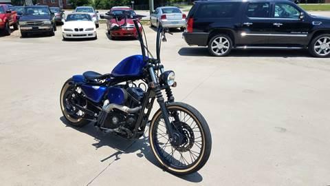 2012 HarleyDavidson XL883NCustom