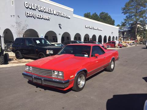 1985 Chevrolet El Camino for sale at Gulf Shores Motors in Gulf Shores AL