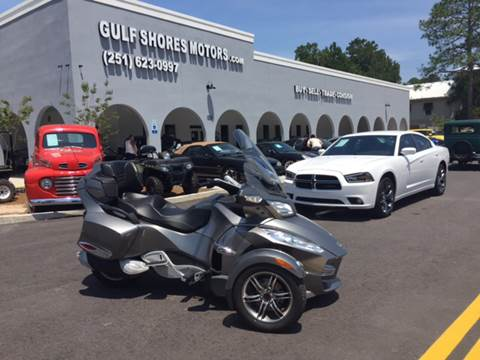 2011 Can-Am Spyder Rts for sale at Gulf Shores Motors in Gulf Shores AL