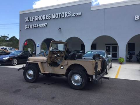 1952 Jeep Willys for sale in Gulf Shores, AL
