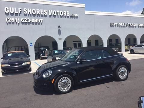 2016 Volkswagen Beetle for sale at Gulf Shores Motors in Gulf Shores AL