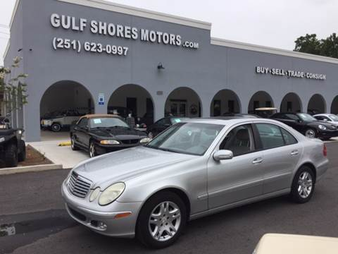 2003 Mercedes-Benz E-Class for sale at Gulf Shores Motors in Gulf Shores AL