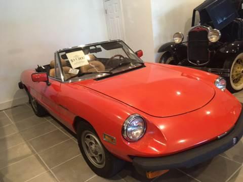 1982 Alfa Romeo Spider for sale at Gulf Shores Motors in Gulf Shores AL
