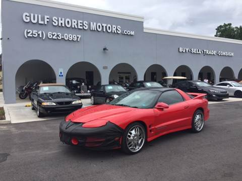 1999 Pontiac Firebird for sale at Gulf Shores Motors in Gulf Shores AL