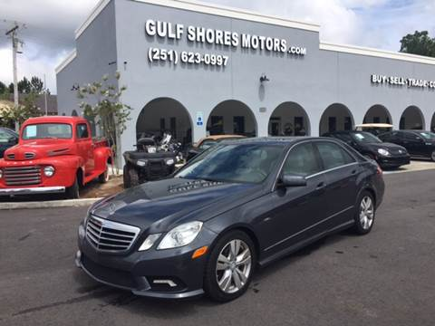2011 Mercedes-Benz E-Class for sale at Gulf Shores Motors in Gulf Shores AL