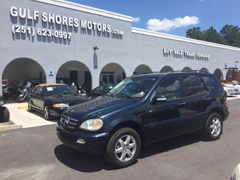2003 Mercedes-Benz M-Class for sale at Gulf Shores Motors in Gulf Shores AL