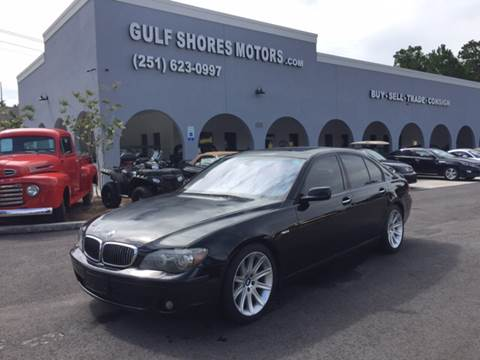 2006 BMW 7 Series for sale at Gulf Shores Motors in Gulf Shores AL