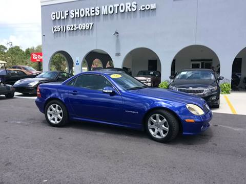 2004 Mercedes-Benz SLK for sale at Gulf Shores Motors in Gulf Shores AL