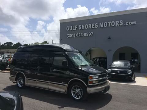 2002 Chevrolet Express Passenger for sale at Gulf Shores Motors in Gulf Shores AL
