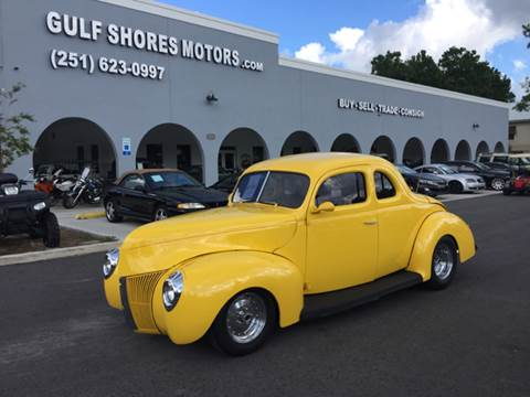 1940 Ford Deluxe for sale at Gulf Shores Motors in Gulf Shores AL