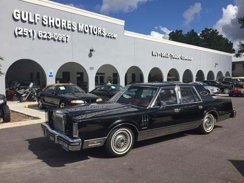 1982 Lincoln Mark VI for sale at Gulf Shores Motors in Gulf Shores AL
