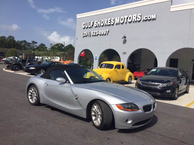 2003 Bmw Z4 25i In Gulf Shores Al Gulf Shores Motors