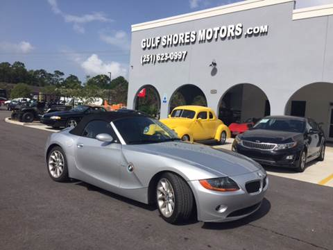 2003 BMW Z4 for sale at Gulf Shores Motors in Gulf Shores AL