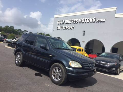 2000 Mercedes-Benz M-Class for sale at Gulf Shores Motors in Gulf Shores AL