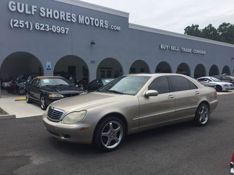 2000 Mercedes-Benz S-Class for sale at Gulf Shores Motors in Gulf Shores AL