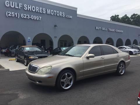 2000 Mercedes-Benz S-Class for sale in Gulf Shores, AL