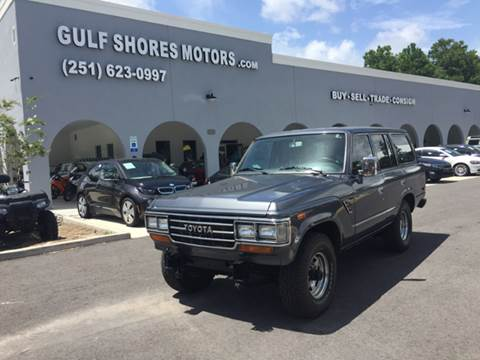 1990 Toyota Land Cruiser for sale at Gulf Shores Motors in Gulf Shores AL