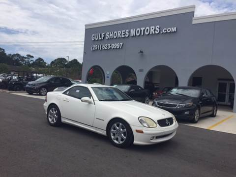 2003 Mercedes-Benz SLK for sale at Gulf Shores Motors in Gulf Shores AL