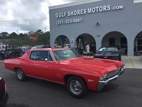 1968 Chevrolet Impala for sale at Gulf Shores Motors in Gulf Shores AL