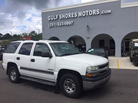 2003 Chevrolet Tahoe for sale at Gulf Shores Motors in Gulf Shores AL