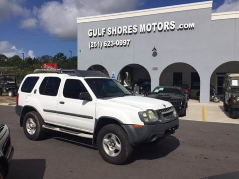 2002 Nissan Xterra for sale at Gulf Shores Motors in Gulf Shores AL