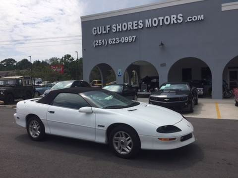 1996 Chevrolet Camaro for sale at Gulf Shores Motors in Gulf Shores AL