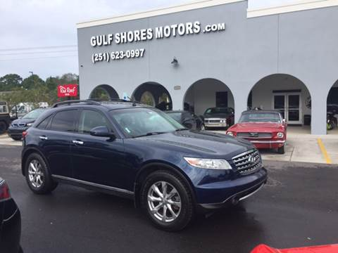 2007 Infiniti FX35 for sale at Gulf Shores Motors in Gulf Shores AL