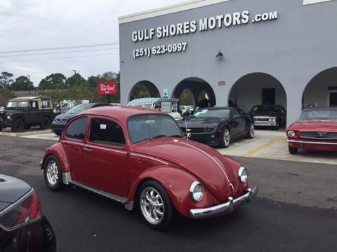 1970 Volkswagen Beetle for sale at Gulf Shores Motors in Gulf Shores AL