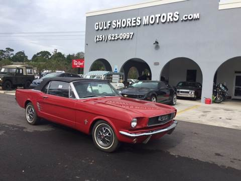 1966 Ford Mustang for sale at Gulf Shores Motors in Gulf Shores AL