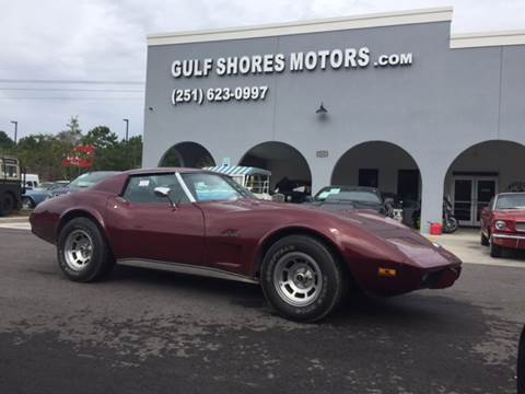 1976 Chevrolet Corvette for sale in Gulf Shores, AL