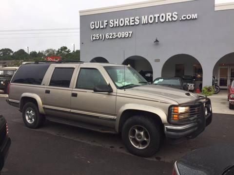 1999 GMC Suburban for sale at Gulf Shores Motors in Gulf Shores AL