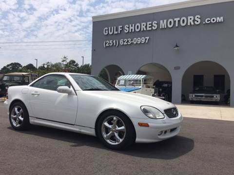 2001 Mercedes-Benz SLK for sale at Gulf Shores Motors in Gulf Shores AL