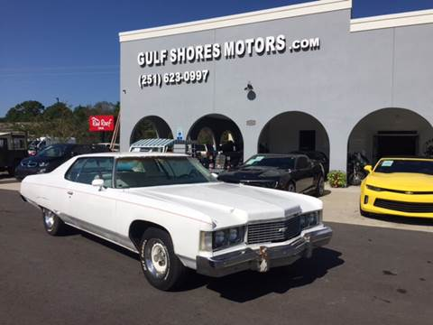 1974 Chevrolet Impala for sale at Gulf Shores Motors in Gulf Shores AL