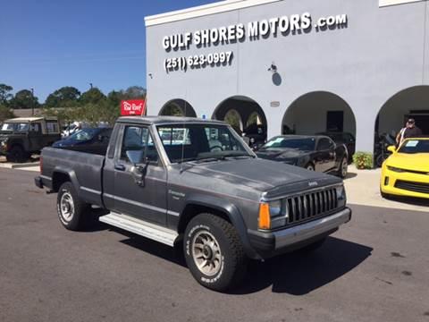 1982 Jeep Comanche for sale at Gulf Shores Motors in Gulf Shores AL