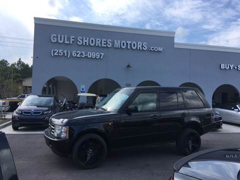 2004 Land Rover Range Rover for sale at Gulf Shores Motors in Gulf Shores AL