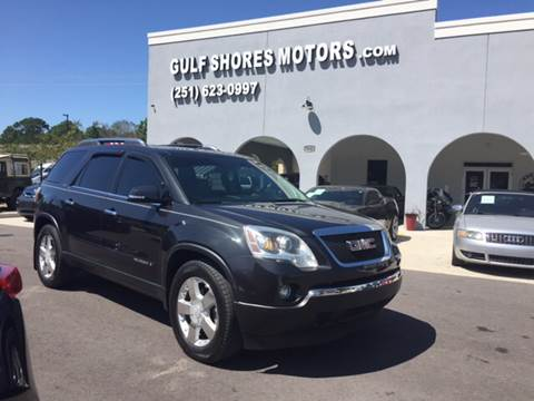 2007 GMC Acadia for sale at Gulf Shores Motors in Gulf Shores AL
