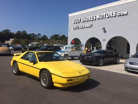 1988 Pontiac Fiero for sale in Gulf Shores, AL