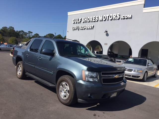 2008 Chevrolet Avalanche for sale at Gulf Shores Motors in Gulf Shores AL