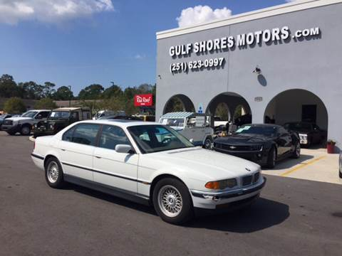 1999 BMW 7 Series for sale at Gulf Shores Motors in Gulf Shores AL