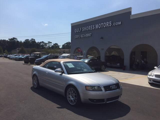 2006 Audi S4 for sale at Gulf Shores Motors in Gulf Shores AL