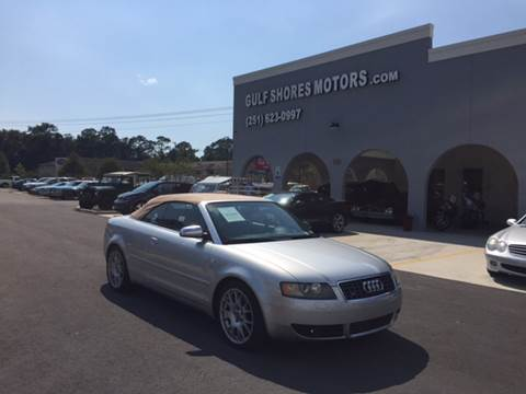 2006 Audi S4 for sale at Gulf Shores Motors in Gulf Shores AL