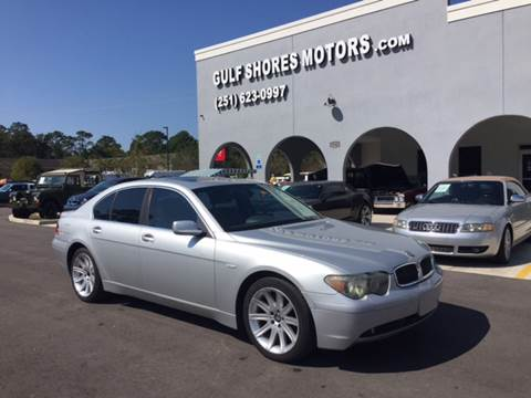 2004 BMW 7 Series for sale at Gulf Shores Motors in Gulf Shores AL