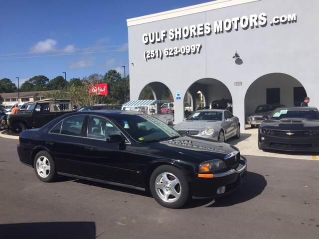 2000 Lincoln LS for sale at Gulf Shores Motors in Gulf Shores AL