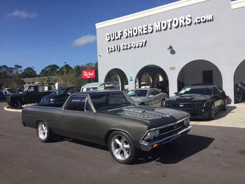 1966 Chevrolet El Camino for sale at Gulf Shores Motors in Gulf Shores AL