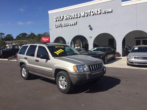 2004 Jeep Grand Cherokee For Sale At Gulf Shores Motors In Gulf Shores AL