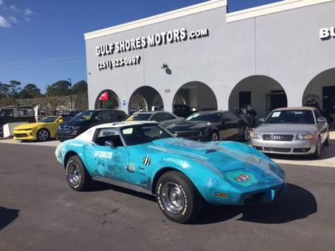 1977 Chevrolet Corvette for sale at Gulf Shores Motors in Gulf Shores AL