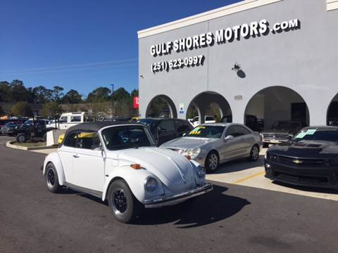 1974 Volkswagen Beetle Convertible for sale at Gulf Shores Motors in Gulf Shores AL