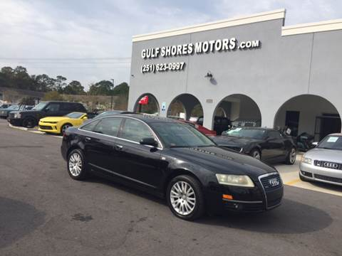 2005 Audi A6 for sale at Gulf Shores Motors in Gulf Shores AL